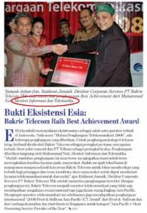 Seremonial Bakrie Telecom