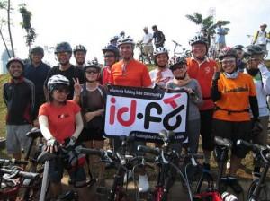Komunitas sepeda lipat