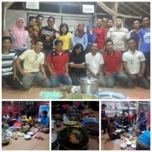 Bukber dengan relawan Taman Baca Mahanani, Kediri