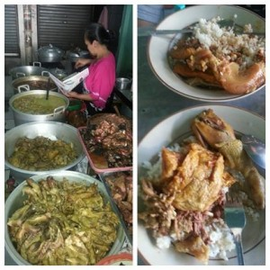 Yang khas di Salatiga: nasi koyor