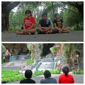 Keheningan di Goa Maria, Puh Sarang-Kediri