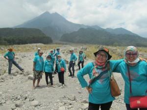 #Day2 Mejeng ala ala model di Merapi