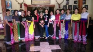 Bersama ibu Suharti