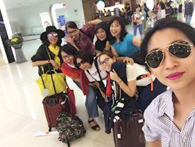 Hore...sampai Surabaya