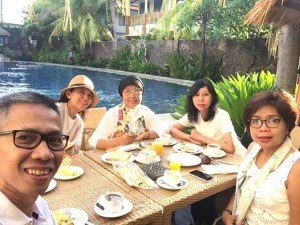 Breakfast & Wefie di Best Western Resort Kuta