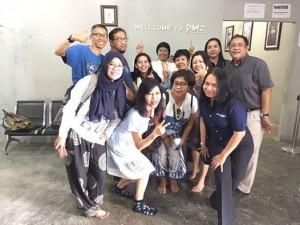 Seseruan di DMZ Bali