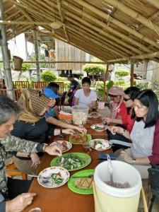 Kelaparan berat di Wae Rebo Lodge