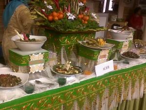 Peserta lomba kuliner nusantara dengan cita rasa asli dan khas