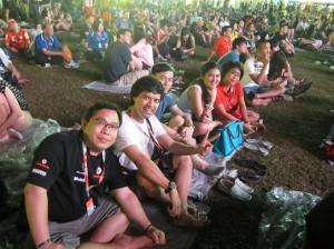 Asyiknya nonton F1 Singapore ber'bonus' konser