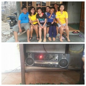 Bersama keluarga Darini di Ngawi