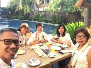 Breakfast & Wefie di Best Western Resort Kuta