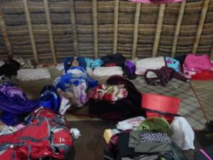 Kapling tempat tidur di Wae Rebo